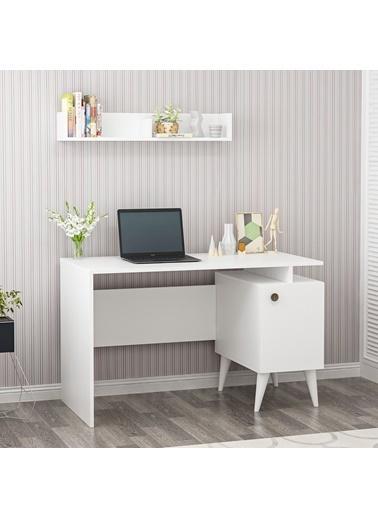 Cantek Gama 120X60 Cm Çalışma Masası Beyaz